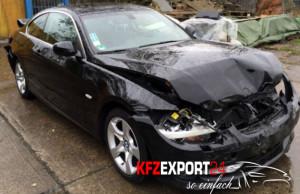 BMW-Unfallauto